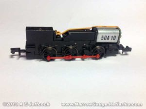 Graham Farish Class 14 n-gauge chassis