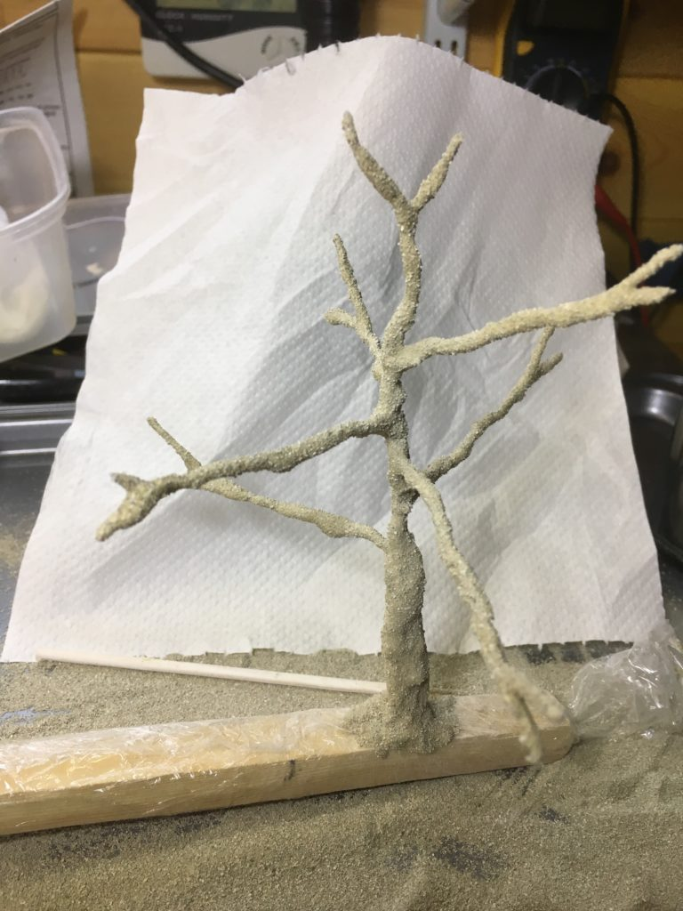 2nd tree armature