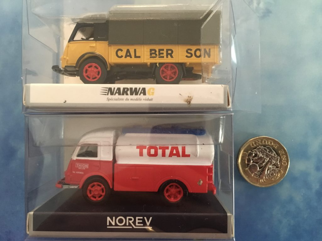 1/87 scale French Galion trucks by Narwa
