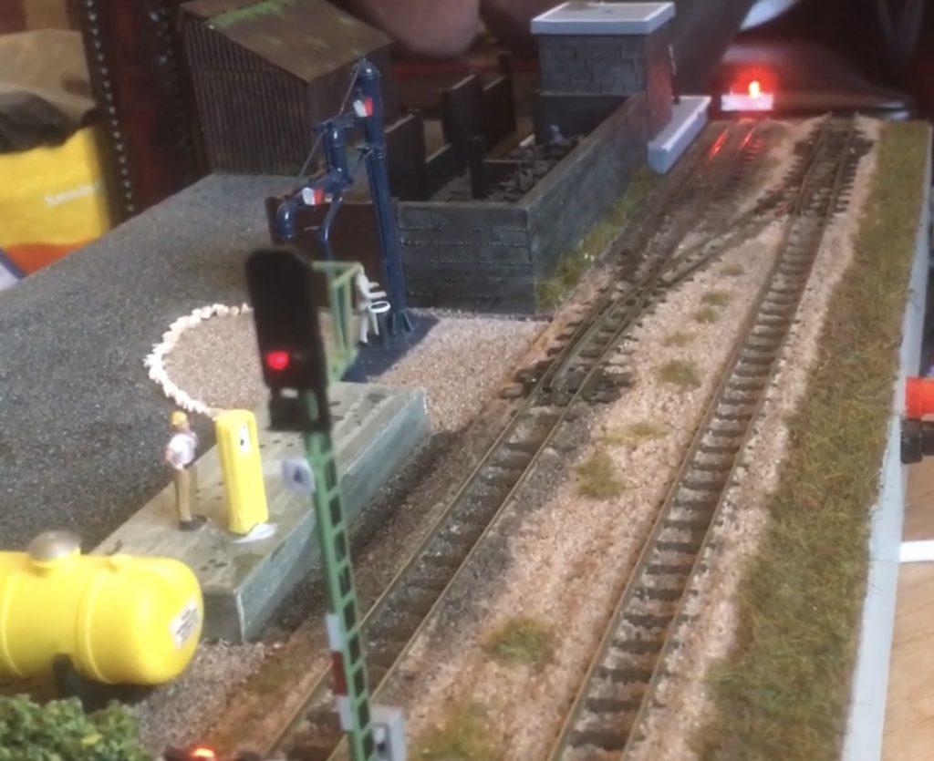New signal on Die Keinnamebahn