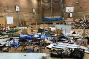 Vandals attack model railway show